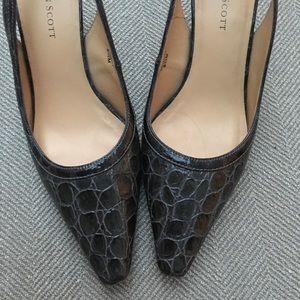 Karen Scott sling-back heels